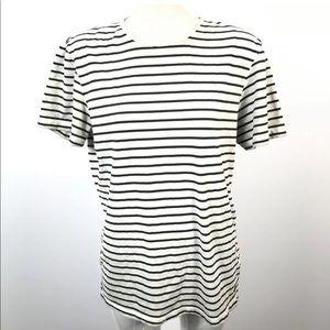 casual friday men t-shirt European Brand Striped